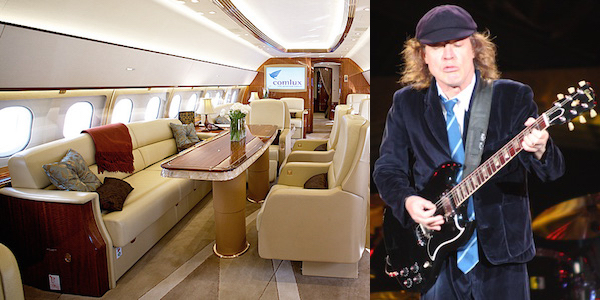 ACDC Flieger Angus