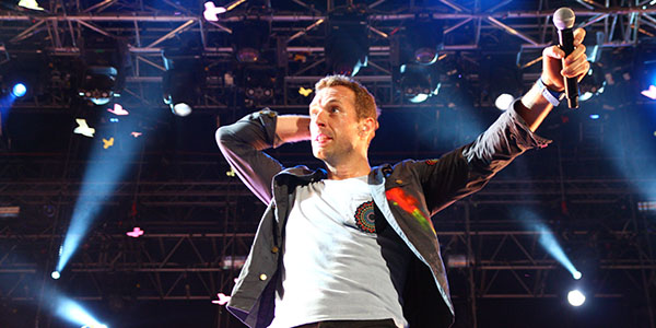 Coldplay Venice
