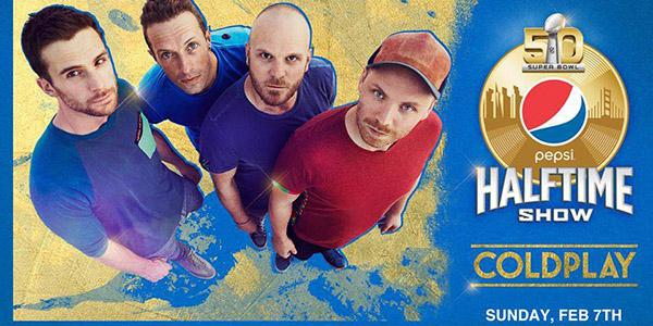 Coldplay Superbowl