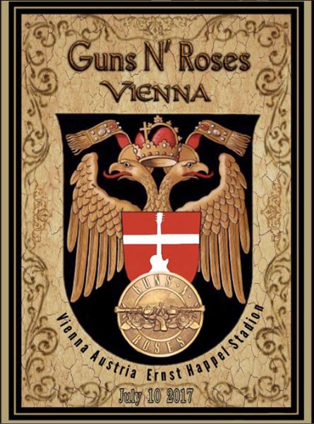 Guns Wien Poster